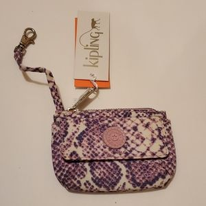 KIPLING CARD/COIN CASE WITH KEYCHAIN